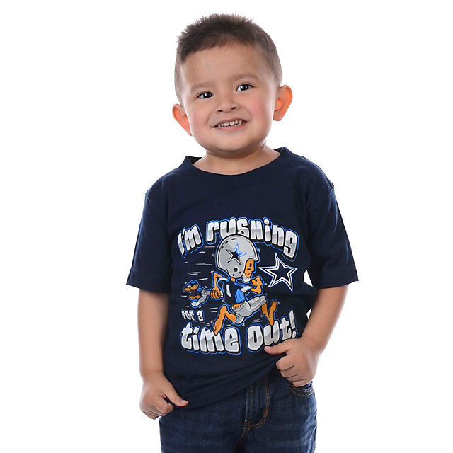 Dallas Cowboys Toddler Time Out T-Shirt