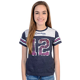 Dallas Cowboys Girls Ice Cream Soda Jersey T-Shirt