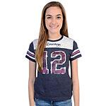 Dallas Cowboys Girls Ice Cream Soda Jersey T-Shirt