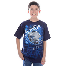 Dallas Cowboys Youth Helmitude T-Shirt