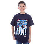 Dallas Cowboys MARVEL Captain America Youth Game On T-Shirt