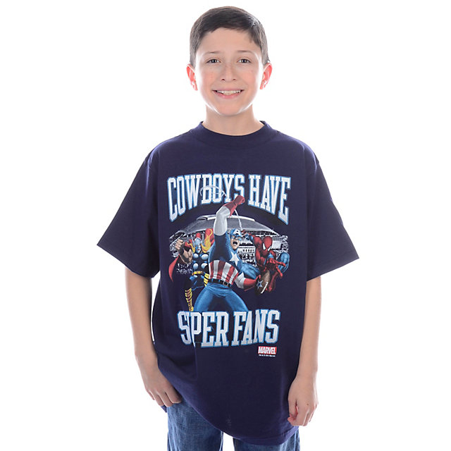 Dallas Cowboys MARVEL Youth Super Fan T-Shirt