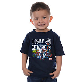 Dallas Cowboys MARVEL Toddler Tiny Coaches T-Shirt