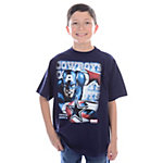 Dallas Cowboys MARVEL Youth Epic Captain America T-Shirt