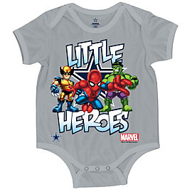 Dallas Cowboys MARVEL Little Heroes Onesie