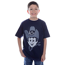Dallas Cowboys Youth TRUE BLUE Rowdy T-Shirt