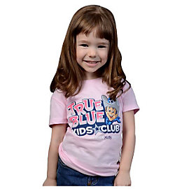 Dallas Cowboys Girls TRUE BLUE Logo T-Shirt