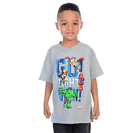 Dallas Cowboys MARVEL Kids Go Fight Win T-Shirt