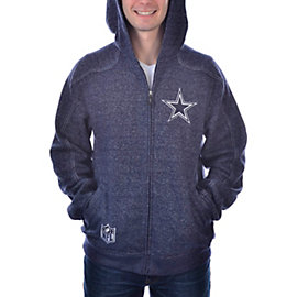 Dallas Cowboys Blockout Full Zip 2nd Season Fleece
