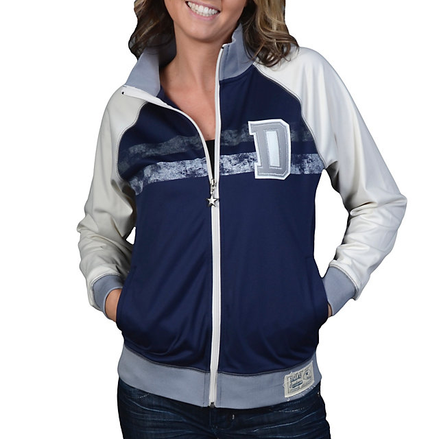 Dallas Cowboys Womens De Ville Track Jacket