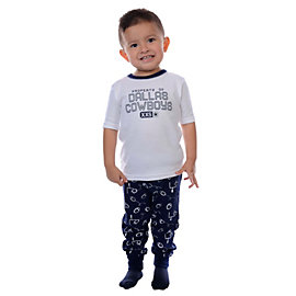 Dallas Cowboys Toddler Sandbox PJ Set
