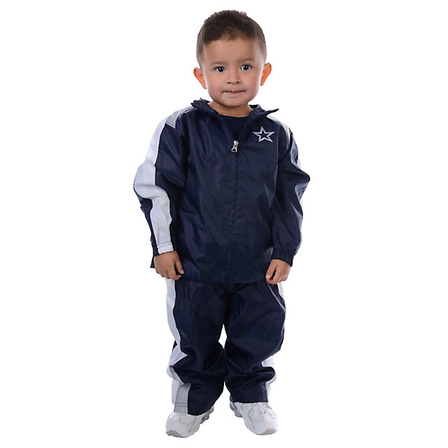 Dallas Cowboys Toddler Four Square Windsuit