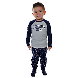 Dallas Cowboys Toddler Climber PJ Set