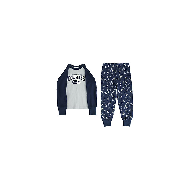 Dallas Cowboys Infant Climber PJ Set