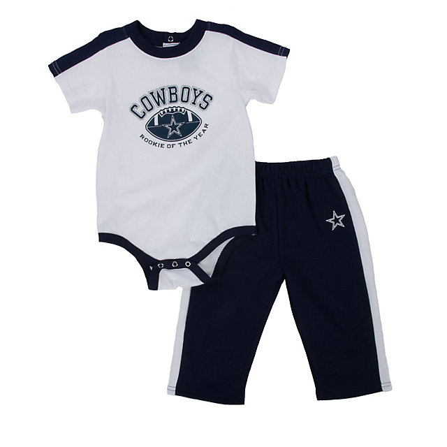 Dallas Cowboys Infant Bodysuit and Pant Set