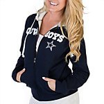 Dallas Cowboys Womens Appleby Sherpa Hoodie