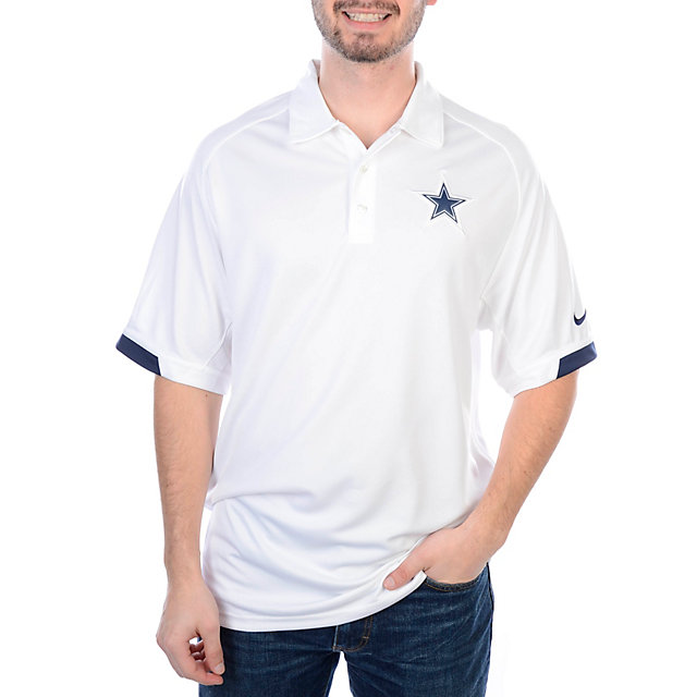 Dallas Cowboys Nike Dri-Fit Practice Polo