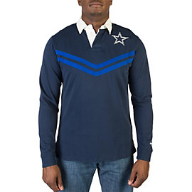 Dallas Cowboys Nike Rugby Long Sleeve Top