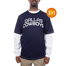 Dallas Cowboys Checkdown 3-in-1 Combo T-Shirt