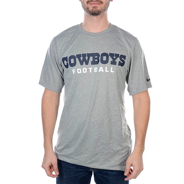 Dallas Cowboys Nike Legend Authentic Font T-Shirt