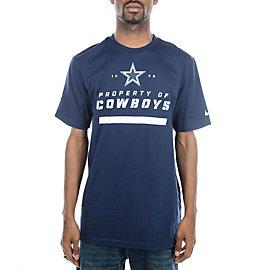 Dallas Cowboys Nike Property Of T-Shirt