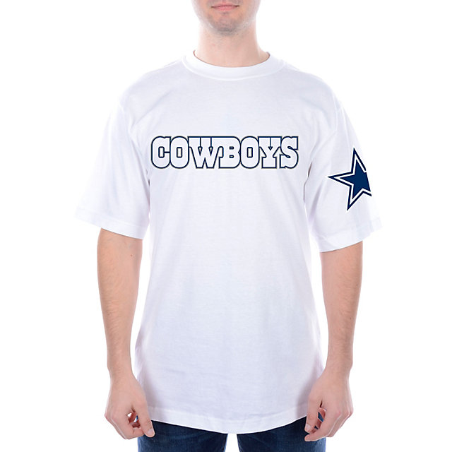 Dallas Cowboys Wideout Workmark Tee