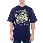 Dallas Cowboys Rings Slant T-Shirt