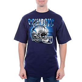 Dallas Cowboys Reflections Helmet Tee