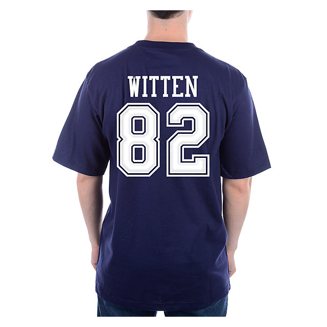 Dallas Cowboys Witten #82 Stripe Away T-Shirt