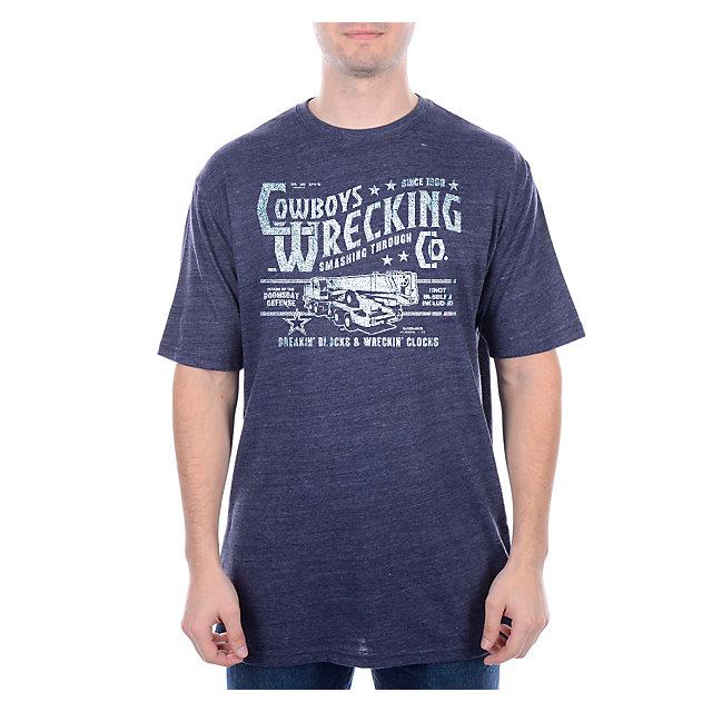 Dallas Cowboys Wrecking Co. Triblend T-Shirt