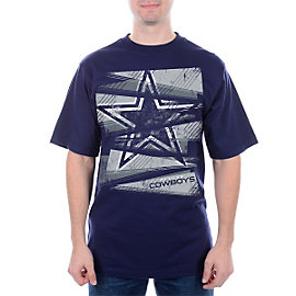 Dallas Cowboys Fragmented Short Sleeve T-Shirt