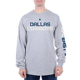 Long Sleeve T Shirts Mens Cowboys Catalog Dallas