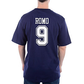 Dallas Cowboys Romo #9 Stripe Away T-Shirt