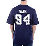 Dallas Cowboys Ware #94 Stripe Away T-Shirt