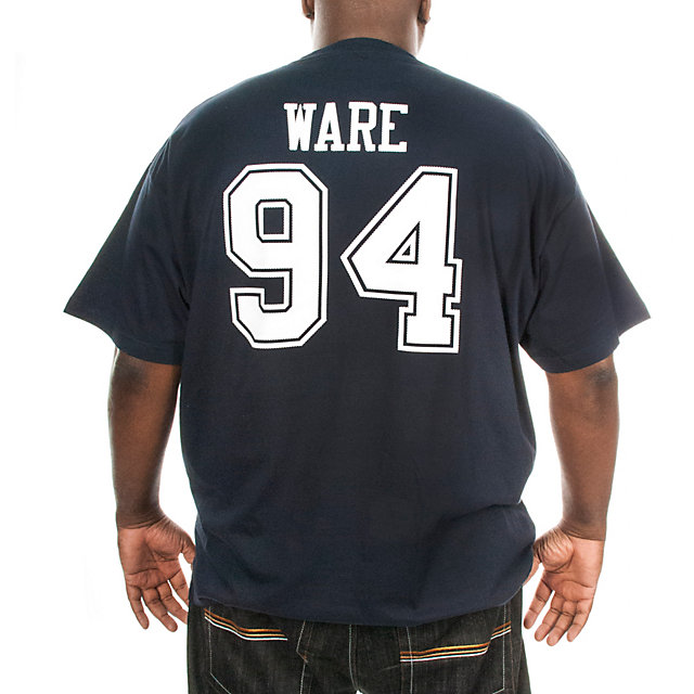 Dallas Cowboys Big and Tall DeMarcus Ware Stripe Away T-Shirt
