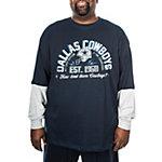 Dallas Cowboys Big and Tall Cruiser Long Sleeve Tee