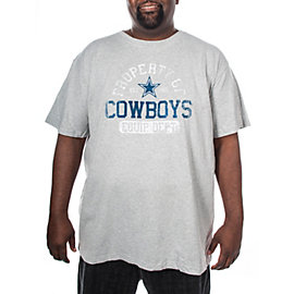 Dallas Cowboys Big and Tall Bombers Tee