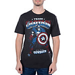 Dallas Cowboys MARVEL Captain Stance T-Shirt