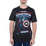 Dallas Cowboys MARVEL Captain Stance T-Shirt