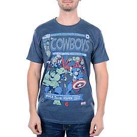 Dallas Cowboys MARVEL Comic Cover T-Shirt