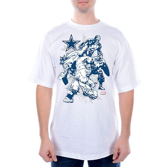 Dallas Cowboys MARVEL Fierce Group T-Shirt