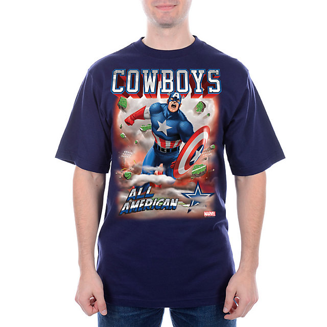 Dallas Cowboys MARVEL All American T-Shirt