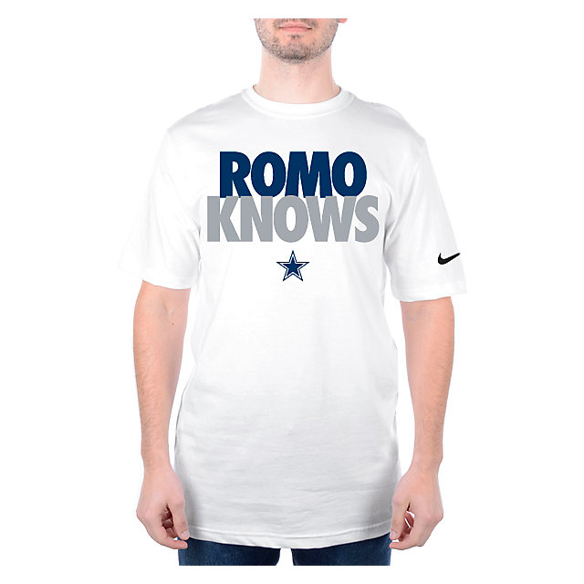 Dallas Cowboys Nike ROMO KNOWS T-Shirt