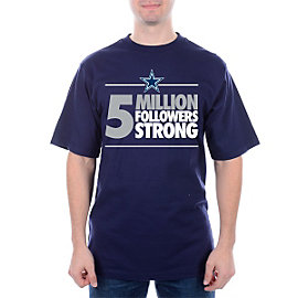 Dallas Cowboys 5 Million Strong T-Shirt