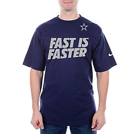 Dallas Cowboys Nike Fast Is Faster Tee