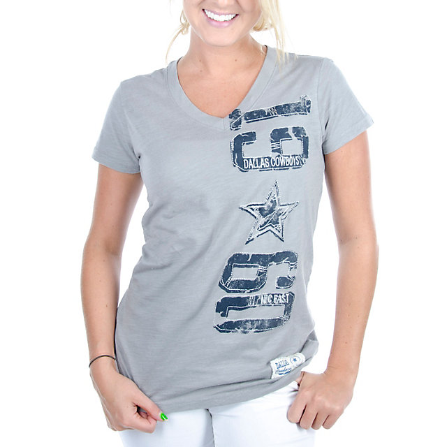 Dallas Cowboys Womens Clovers Tee