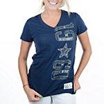 Dallas Cowboys Womens Clovers Tee