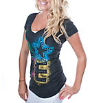 Dallas Cowboys Blackout Triblend Tee