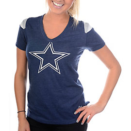 Dallas Cowboys Nike Fashion V-Neck Top