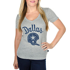 Dallas Cowboys Nike Womens Champions V-Neck Tee